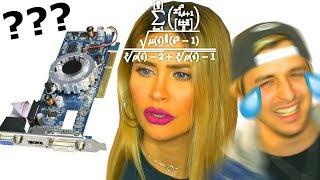 Cuánto sabe MI NOVIA de Informática ?! 😱 Dalas Review y Lizy P