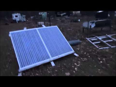 Talking About My Off Grid Tiny Home Solar Panels N19