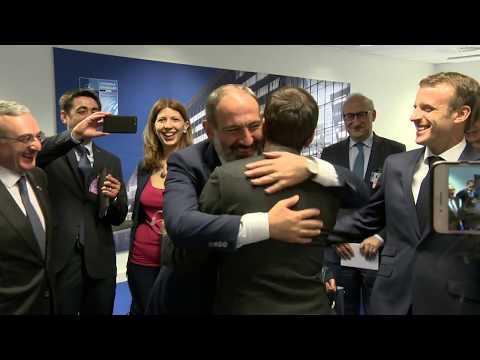 Հանդիպում Ֆրանսիայի նախագահի հետ - DomaVideo.Ru