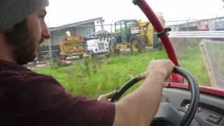 4. Riding in a Kawasaki Mule 610 4X4!