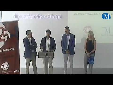 Presentación del primer Barómetro Provincial de Emprendimiento de AJE Málaga