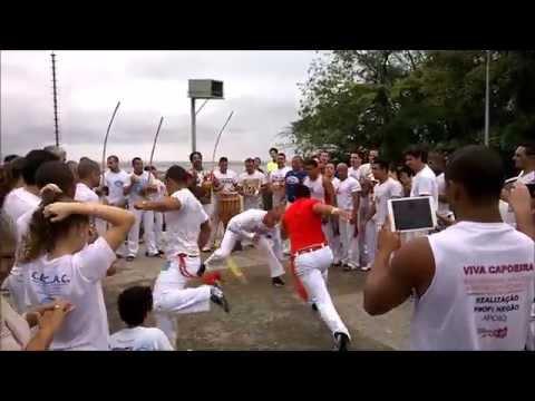 Festival Internacional de Capoeira CECAC - Roda de Capoeira no Convento da Penha