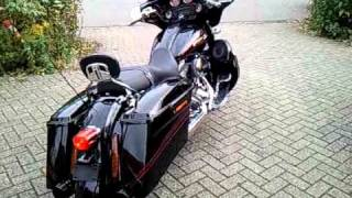 4. 2011  Harley Davidson CVO Street Glide, international configuration.