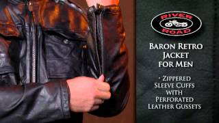 River Road Baron Retro Jacket for Men