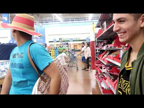 PAUSE CHALLENGE AT WALMART *GOT KICKED OUT!!!!!!*