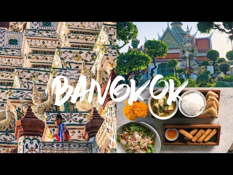 THINGS TO DO IN BANGKOK | THAILAND TRAVEL VLOG | Maryjane Byarm