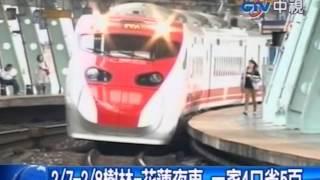 中視新聞 台鐵東部夜車7折 普悠瑪4人座開賣