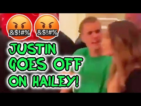 Justin Bieber Is FURIOUS With Hailey Baldwin In Vegas