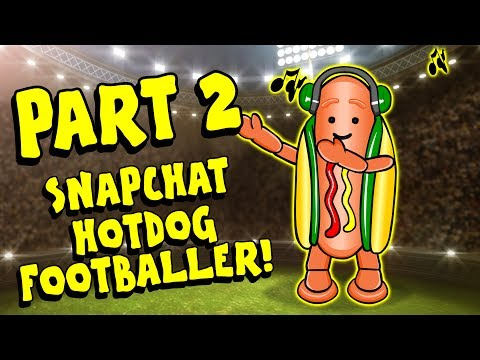 🌭PART 2🌭IF THE SNAPCHAT HOTDOG WAS A FOOTBALLER feat Bale, Kane, Ozil, Firmino and more!
