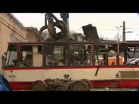 Utylizacja tramwajów ZKM Gdańsk