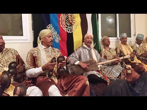 Lila Màalam Fathalah Chawki -'_  Boudarbala  _-' & Gnawa Oulad Bambra