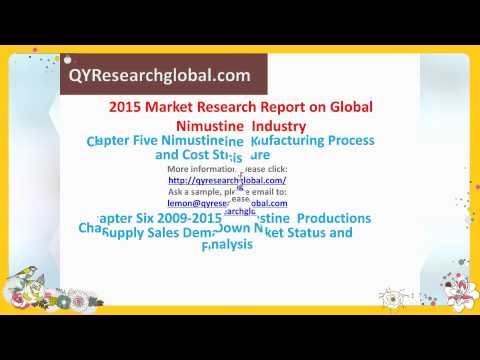 2015 Market Research Report on Global Nimustine Industry