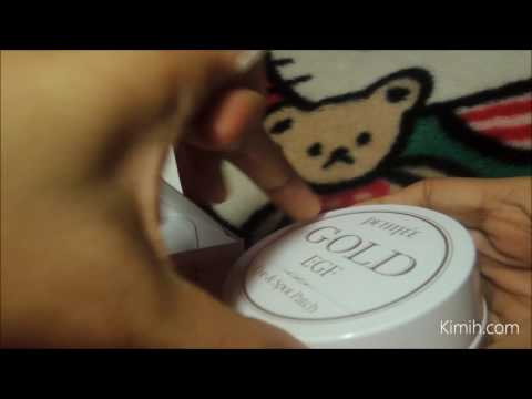 Unboxing Petitfee Gold & EGF Eye & Spot Patch