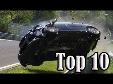Top 10 of Hardest Crashes on Nürburgring Nordschleife