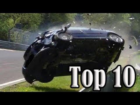 Video Top 10 of Hardest Crashes on Nürburgring Nordschleife download in MP3, 3GP, MP4, WEBM, AVI, FLV January 2017