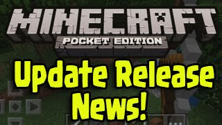 Minecraft Pocket Edition - Update 0.11.0 Release Date News (MCPE iOS/Android Update)