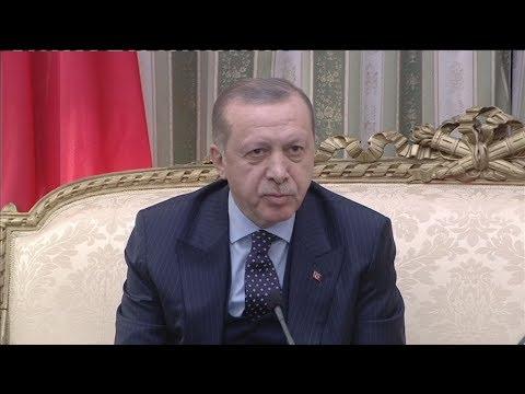 Απόσπασμα δηλώσεων από το Προεδρικό Μέγαρο του Τούρκου Πρόεδρου Ρετζέπ Ταγίπ Ερντογάν