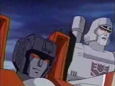 megatron - Clip from Transformers G1 cartoon. My favorite scene.