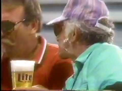 "1987 ""Bob Uecker"" Miller Lite Beer Commercial"
