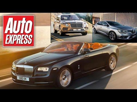 New Rolls-Royce Dawn revealed - car news in 90 secs