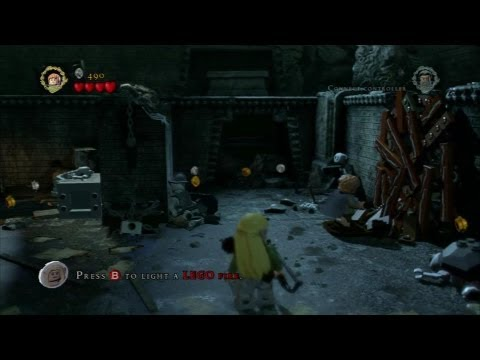 E3 Stage Shows - LEGO The Lord of the Rings - E3 2012 Stage Demo