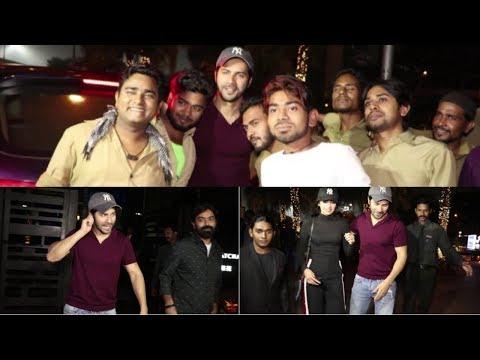 Varun Dhawan, Shoojit Sircar Spotted At Yauatcha, Mumbai