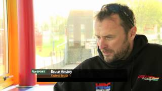 Nonton Bruce Anstey discusses his fastest TT sector time in 2011 Film Subtitle Indonesia Streaming Movie Download