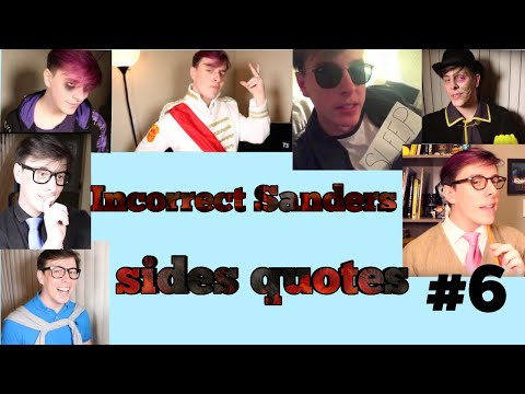 Thank you quotes - Incorrect Sanders Sides Quotes #7