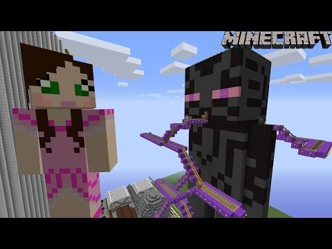 Minecraft: Notch Land – GIANT ENDERMAN RIDE [2]