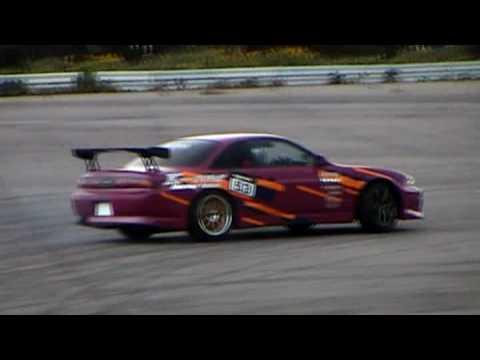 ドリフト練習 S14 シルビア