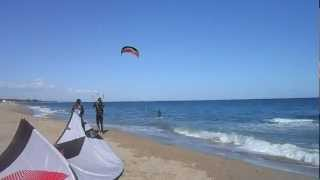 Miami Platja Spain  city photo : Kitesurfing in Miami Platja Spain