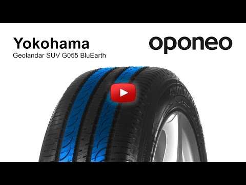 Tyre Yokohama Geolandar SUV G055 BluEarth ● Summer Tyres ● Oponeo™