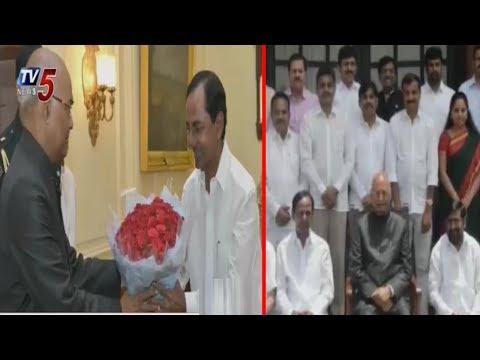 Telangana CM KCR Meets President Ramnath Kovind | Delhi