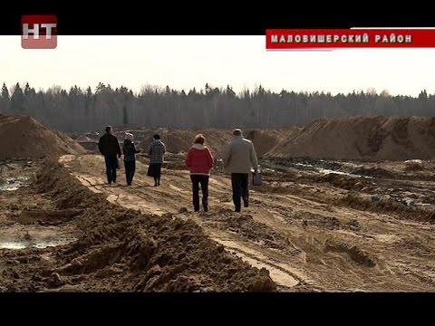Представители Россельхознадзора и департамента сельского хозяйства побывали с проверкой в Маловишерском районе на линии строительства М11