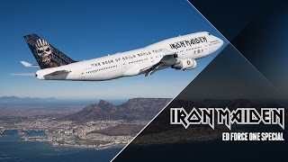 Video Iron Maiden - Ed Force One Special MP3, 3GP, MP4, WEBM, AVI, FLV Juni 2018