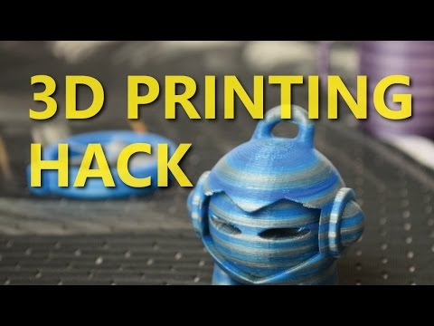 3D Print in ANY COLOUR with this Super Easy Hack