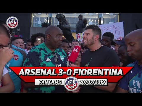 Arsenal 3-0 Fiorentina | Eddie Is The Man Of The Moment!