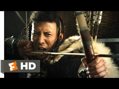 Dragon Blade - Arrows and Fire Scene (3/10) | Movieclips