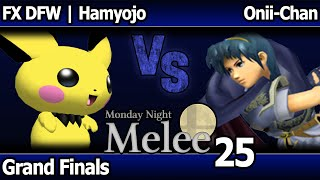 MNM 25 Melee – FX DFW | Hamyojo (Pichu, Sheik) vs Kawaii (Marth, Fox)- Giant Melee Grand Finals
