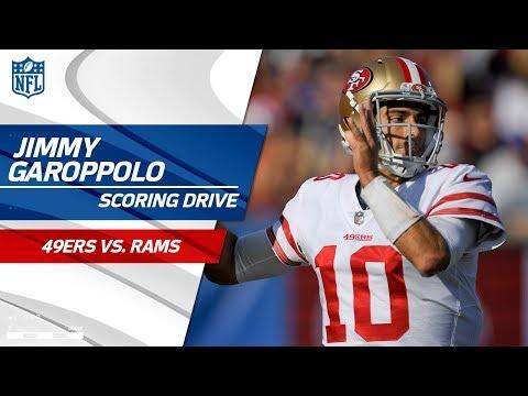 Video: Jimmy Garoppolo's Clutch 3rd Down Conversion Leads to FG vs. LA!   49ers vs. Rams   NFL Wk 17