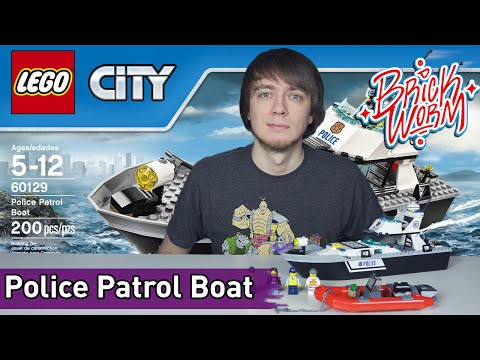 LEGO City: Police Patrol Boat (60129) - Brickworm