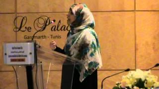 كلمة السيدة توكل كرمان في مؤتمر اليوم العالمي للصحافة تونس 2012