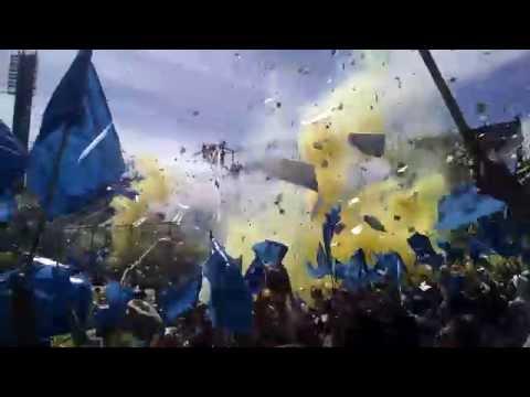 Recibimiento Rosario Central vs Newell's - Clasico 2014 - Los Guerreros - Rosario Central