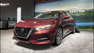 2020 Nissan Sentra First Look (No Talking) by MilesPerHr
