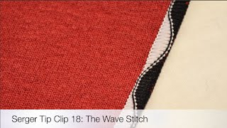 Tip Clip 18: The Wave Stitch