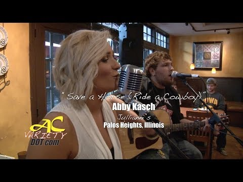 "Abby Kasch performs ""Save a Horse (Ride a Cowboy)"""