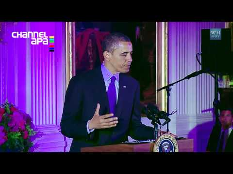President Obama Speaks at the 2013 APA Heritage Month Celebration