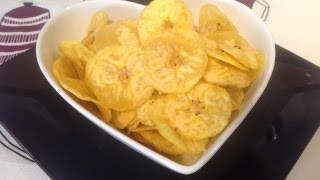 Kerala banana chips or Nendran banana chips
