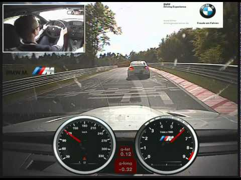 BMW M Driving Experience tuition at the Nurburgring - BMW M3 E92