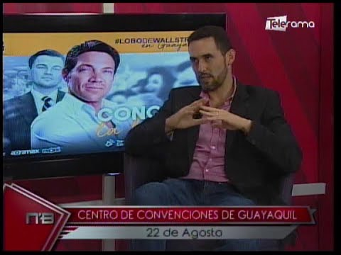 Jordan Belfort el Lobo de Wallstreet dictará conferencia en Guayaquil